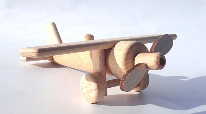 Holzflugzeug