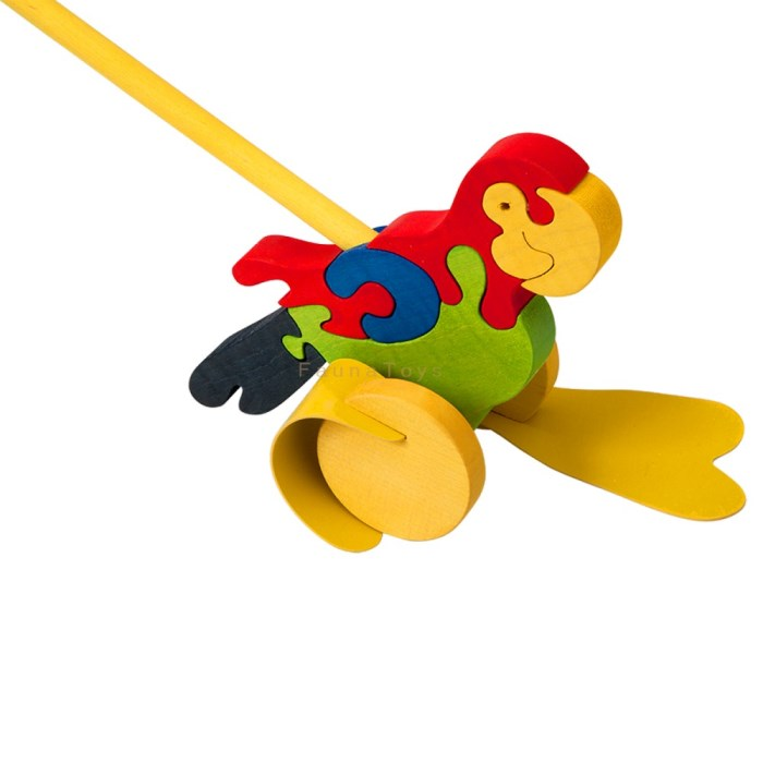 Papousek na tyci