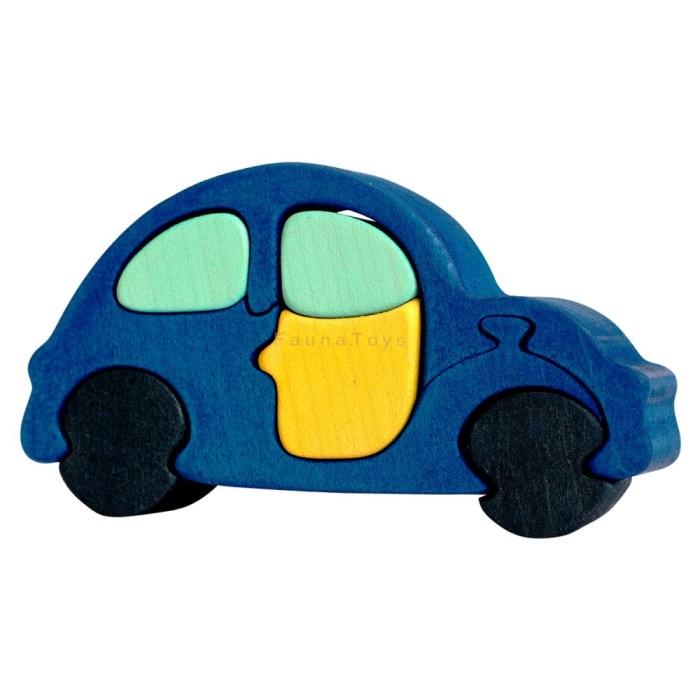 Puzzle Auto modre male
