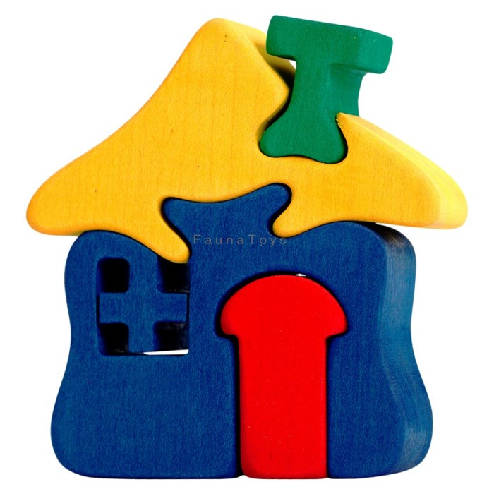Puzzle Domecek