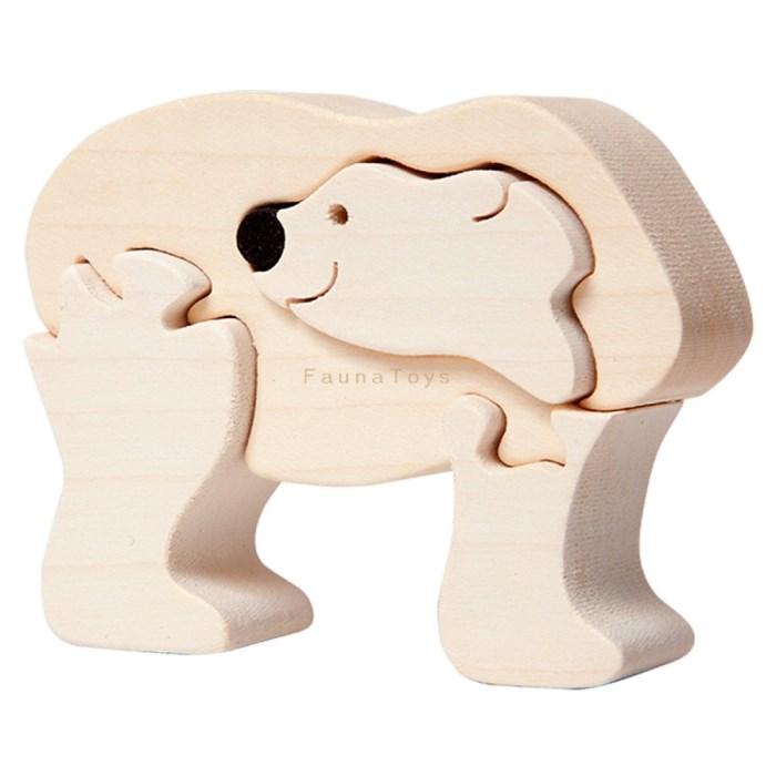 Puzzle Ledni medvidek