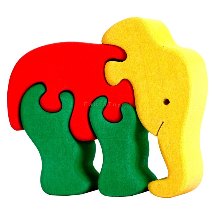 Puzzle Slonik