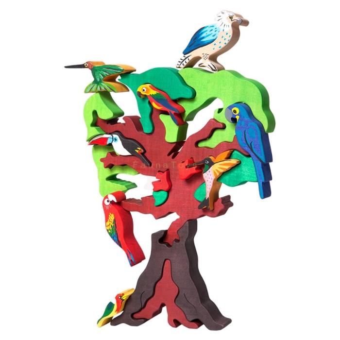 Puzzle strom Jizni Amerika