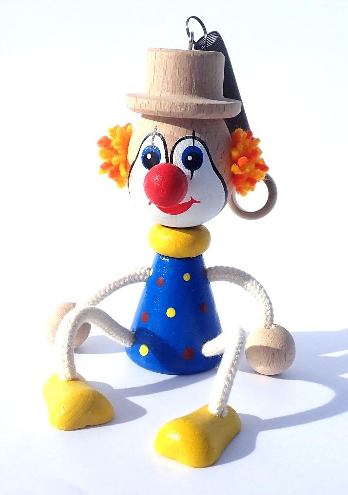 hracky-na-pruzine-klaun