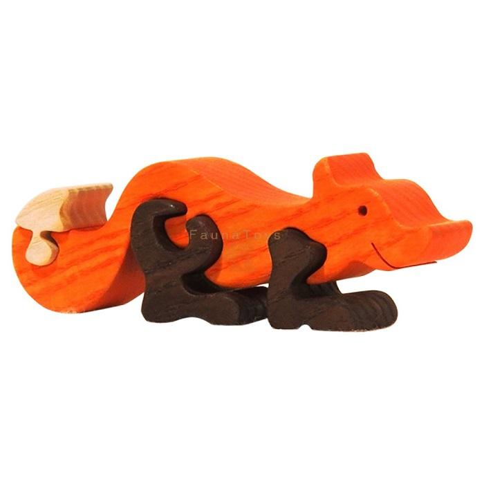 puzzle male liska